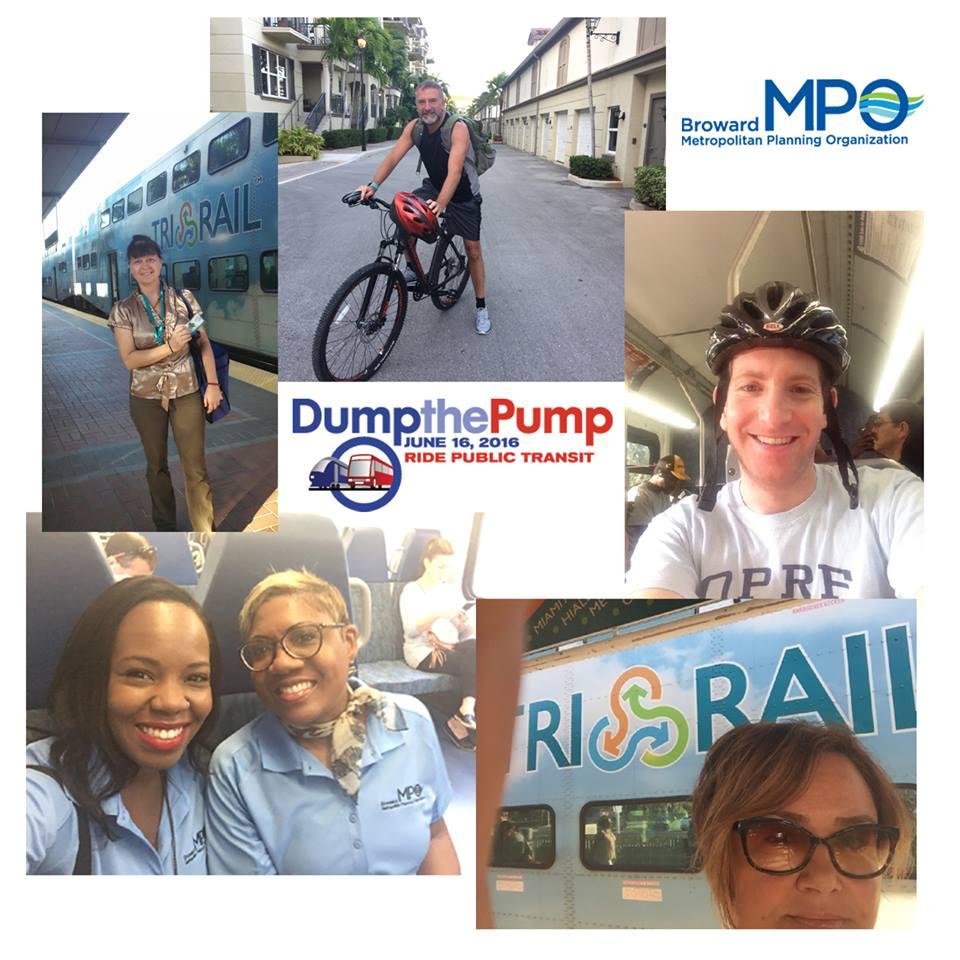 Broward MPO Staff Dump the Pump