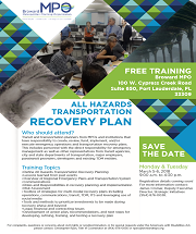 All-Hazards Recovery Training March 5 and 6