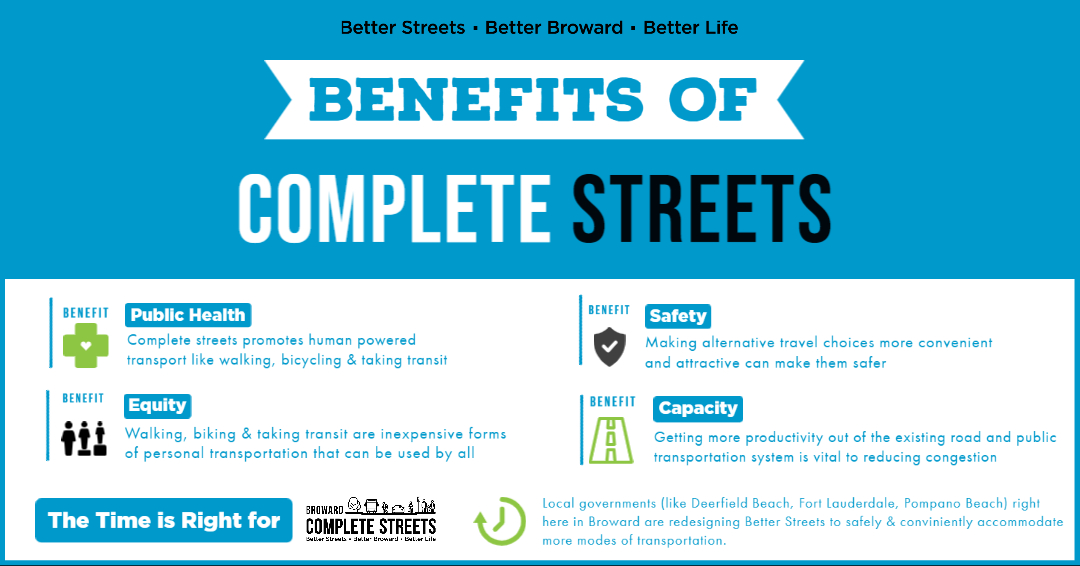 Benefits of Complete Streets