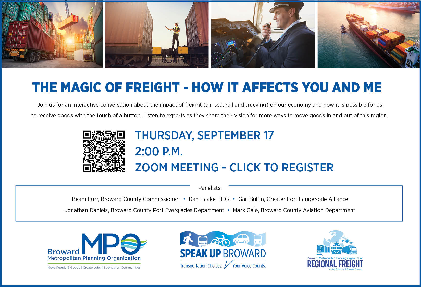 Freight Webinar invite update