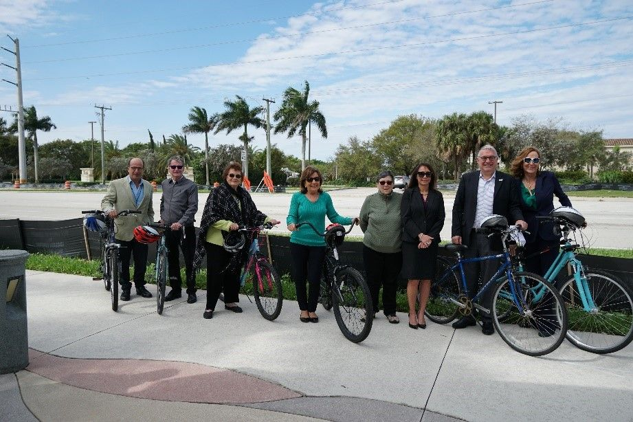 Groundbreaking to celebrate mobility improvements along Lyons Road in Coconut Creek