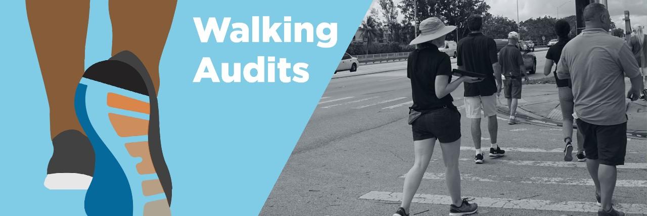 Walking Audit Website Banner