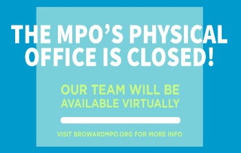 Broward MPO Office Closed Due to Coronavirus
