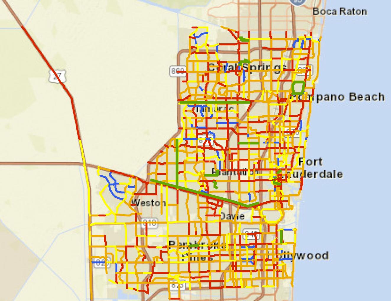 Interactive Bike Map