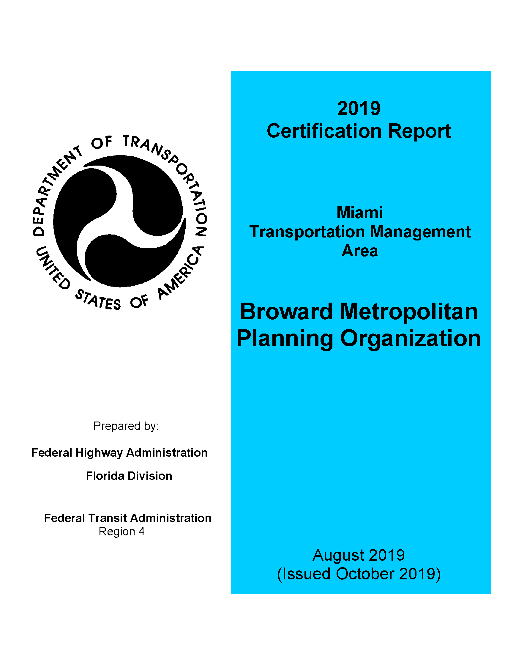Pages from 2019 09 24 Broward MPO Draft FINAL TMA Certification Report to MPO ADA