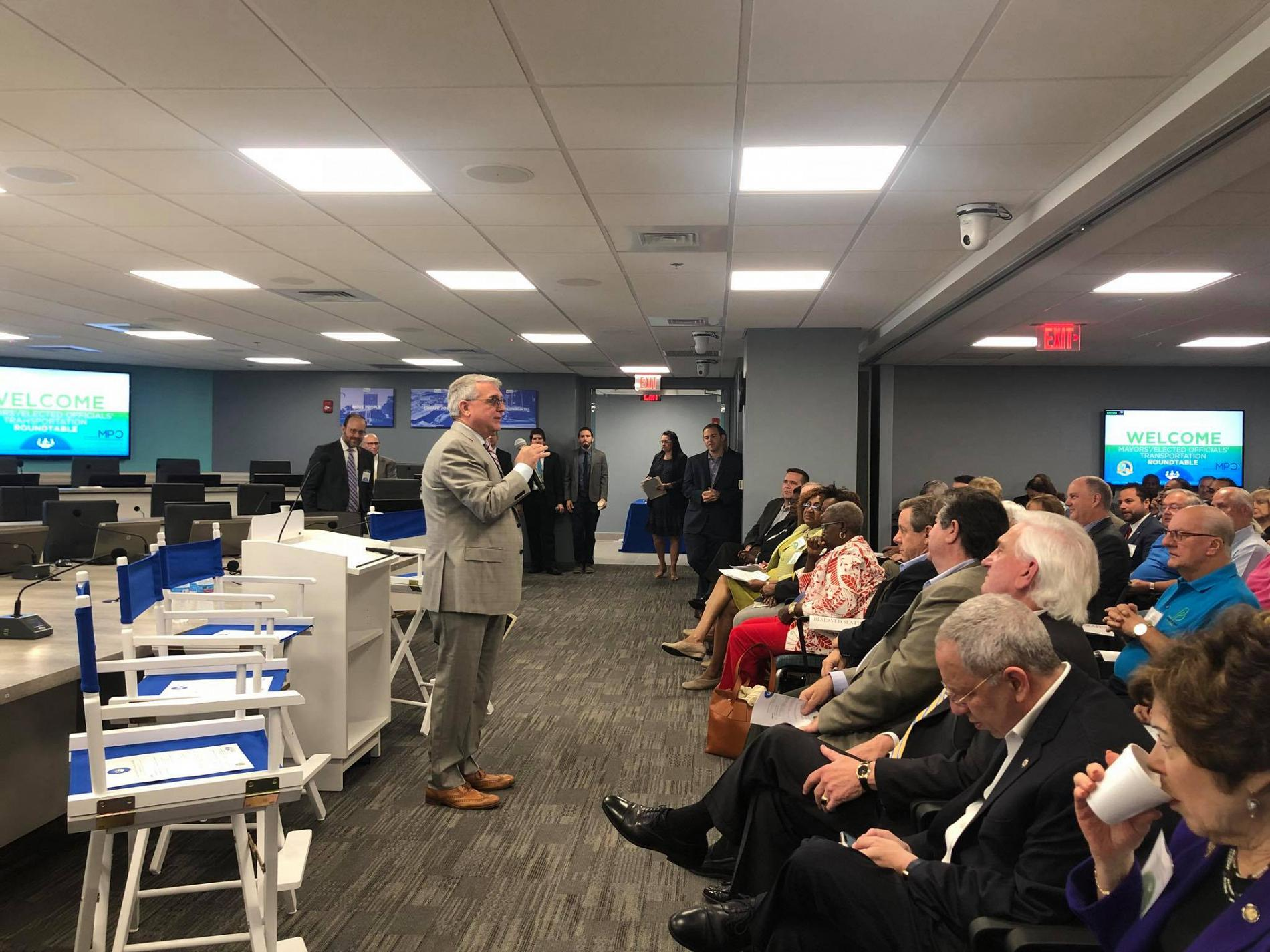 Mayor's/Elected Officials' Roundtable Success