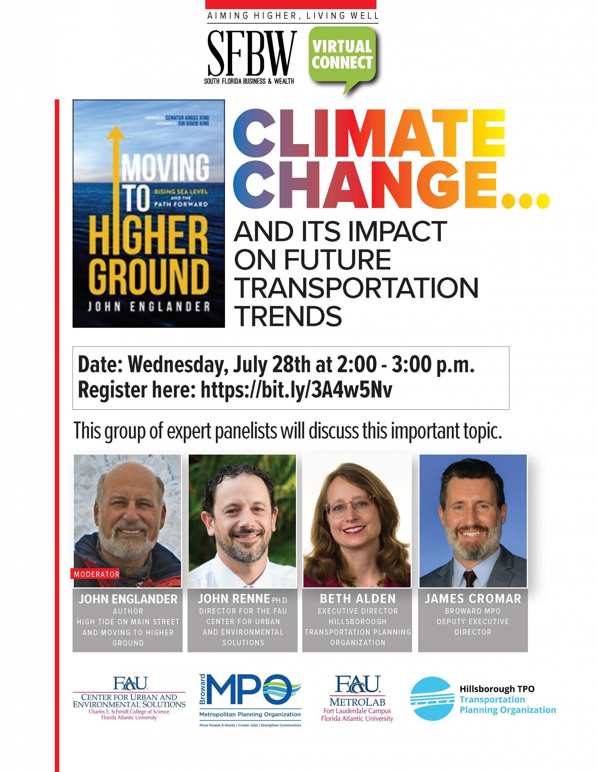 Broward MPO July 28 Invitation
