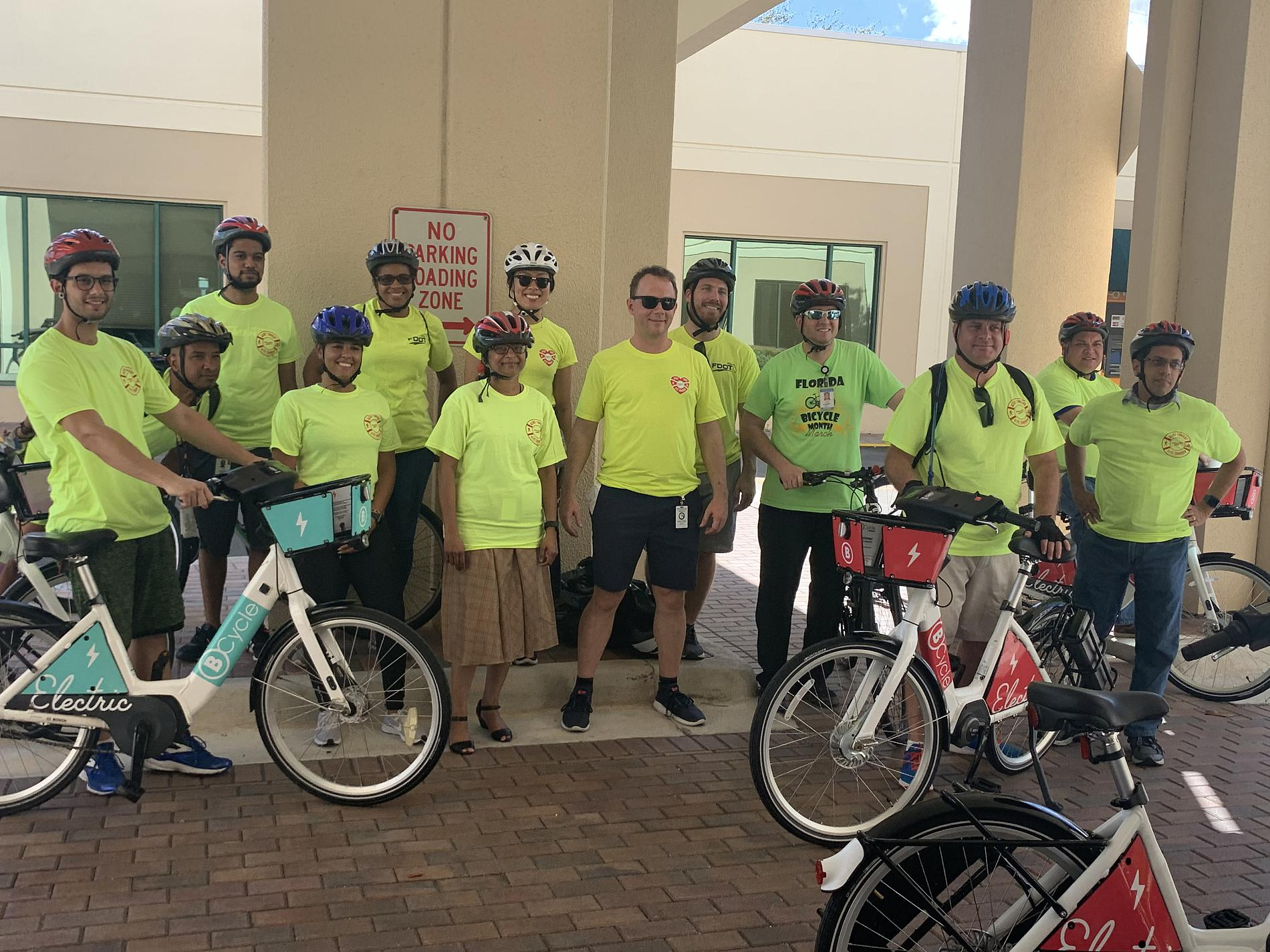 FDOT staff at Mobility Week event