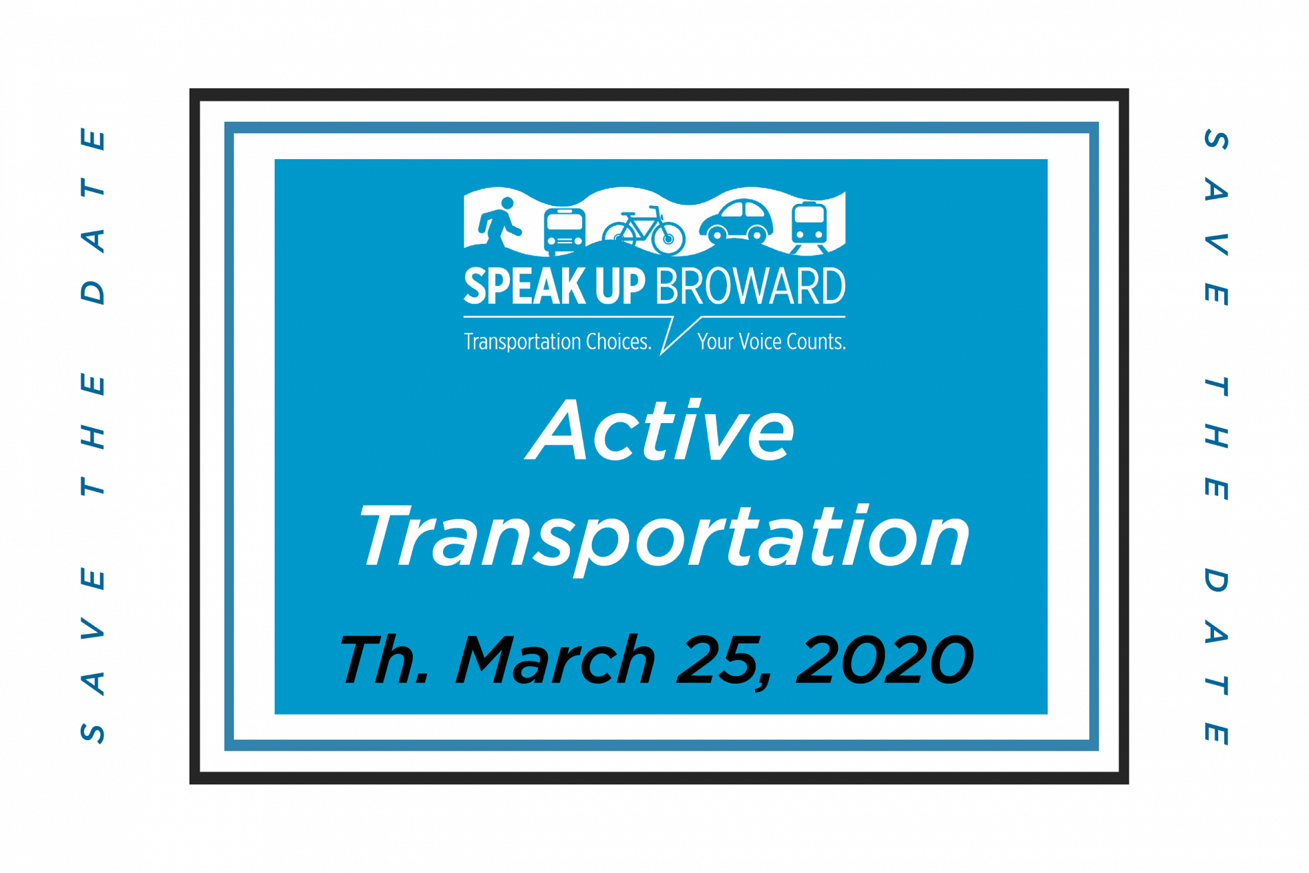 Speak Up Broward Online Event on Active Transportation