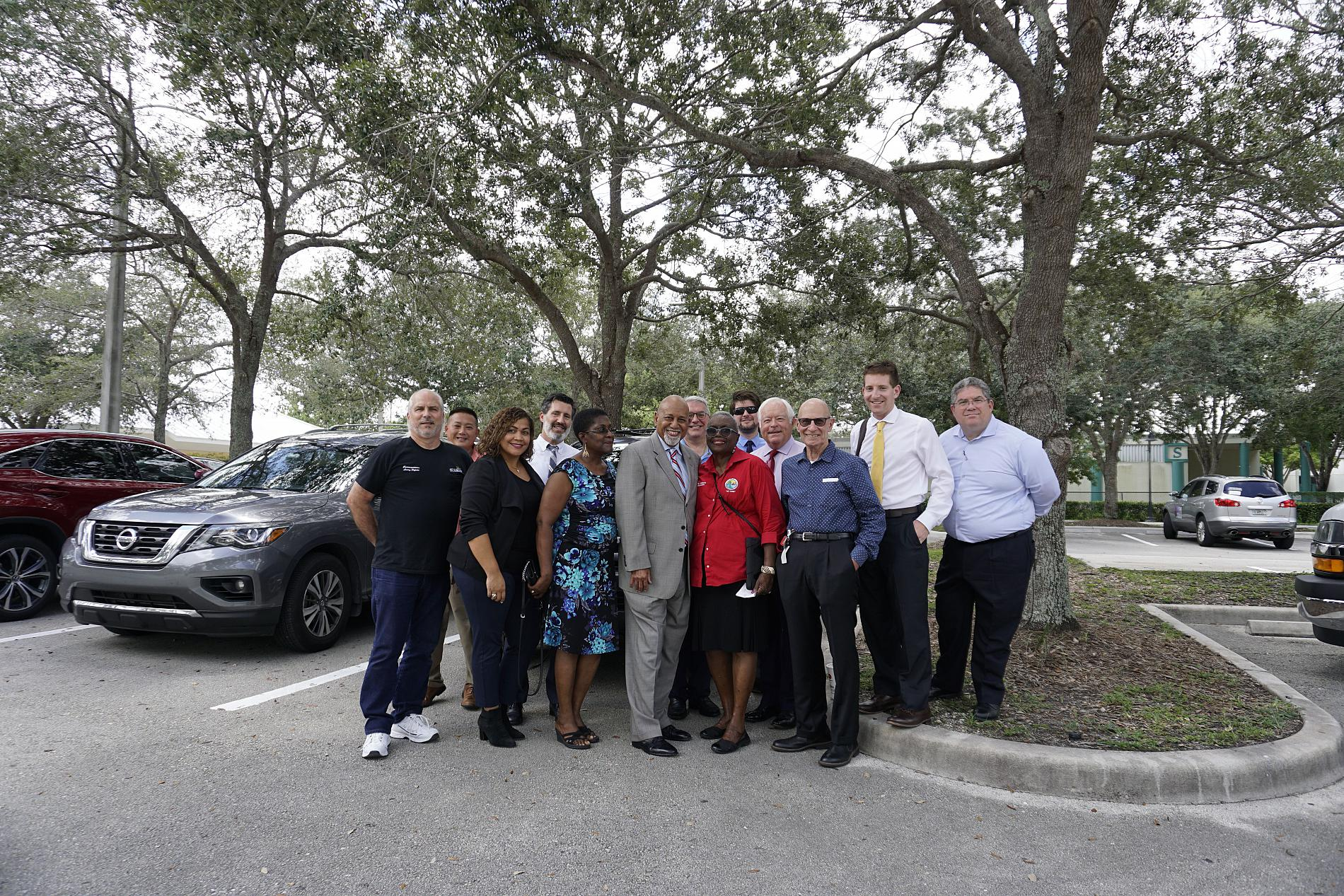 Reps. Hastings and Deutch Tour MPO Projects