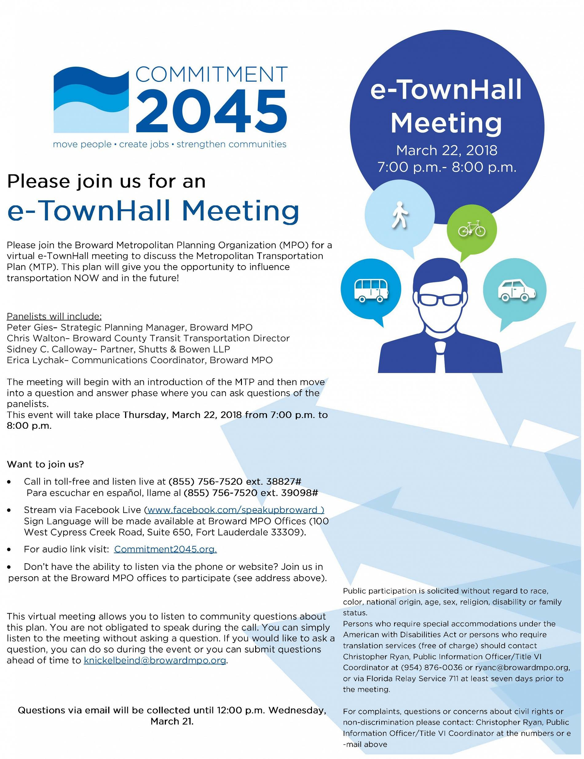 eTownHall Flyer March 22 FINAL